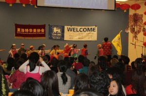 Kids parading in Chinese Ethnic Costume