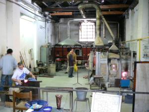 We visited Vetreria Murano Arte (One of the hundreds of glass factory in Murano)