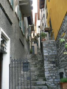 Narrow paths through the town